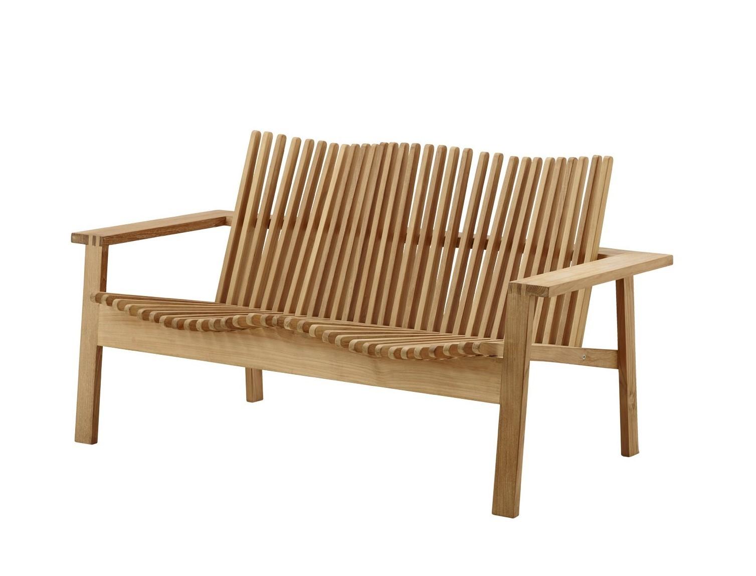 Amaze Outdoor 2-Sitzer Sofa Stapelbar Cane-Line