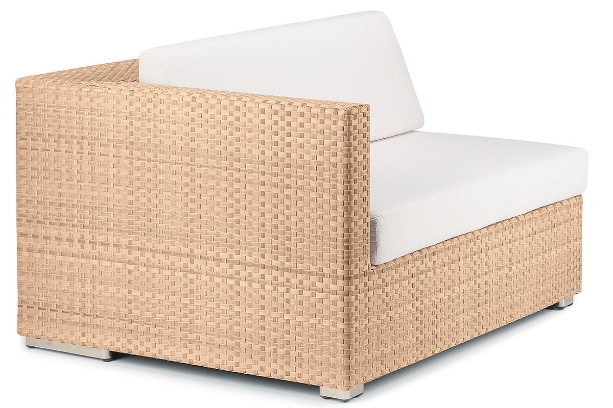 Lounge Right Module Modul Rechts bleach Dedon