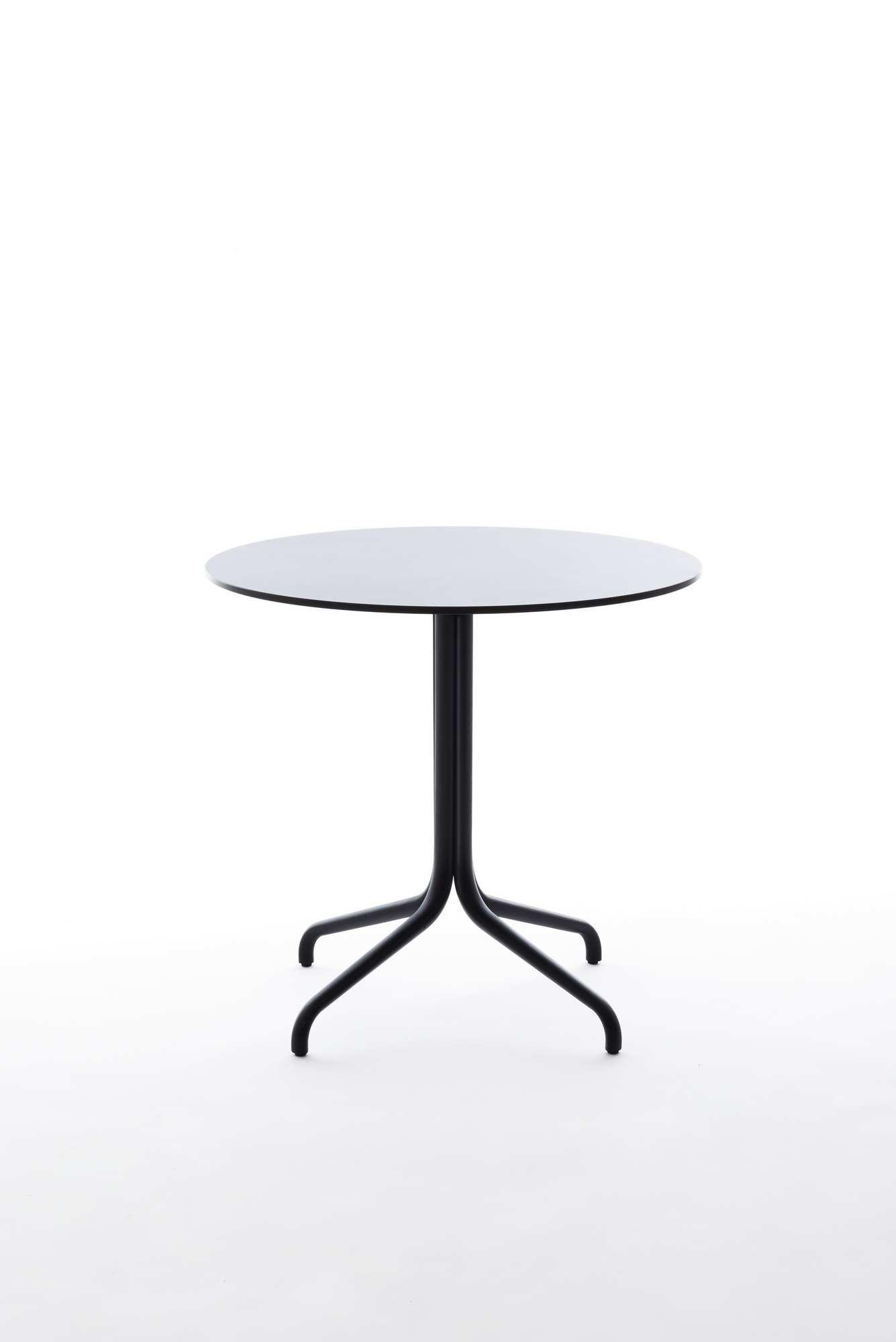 Belleville Tisch rund Outdoor / Indoor Vitra