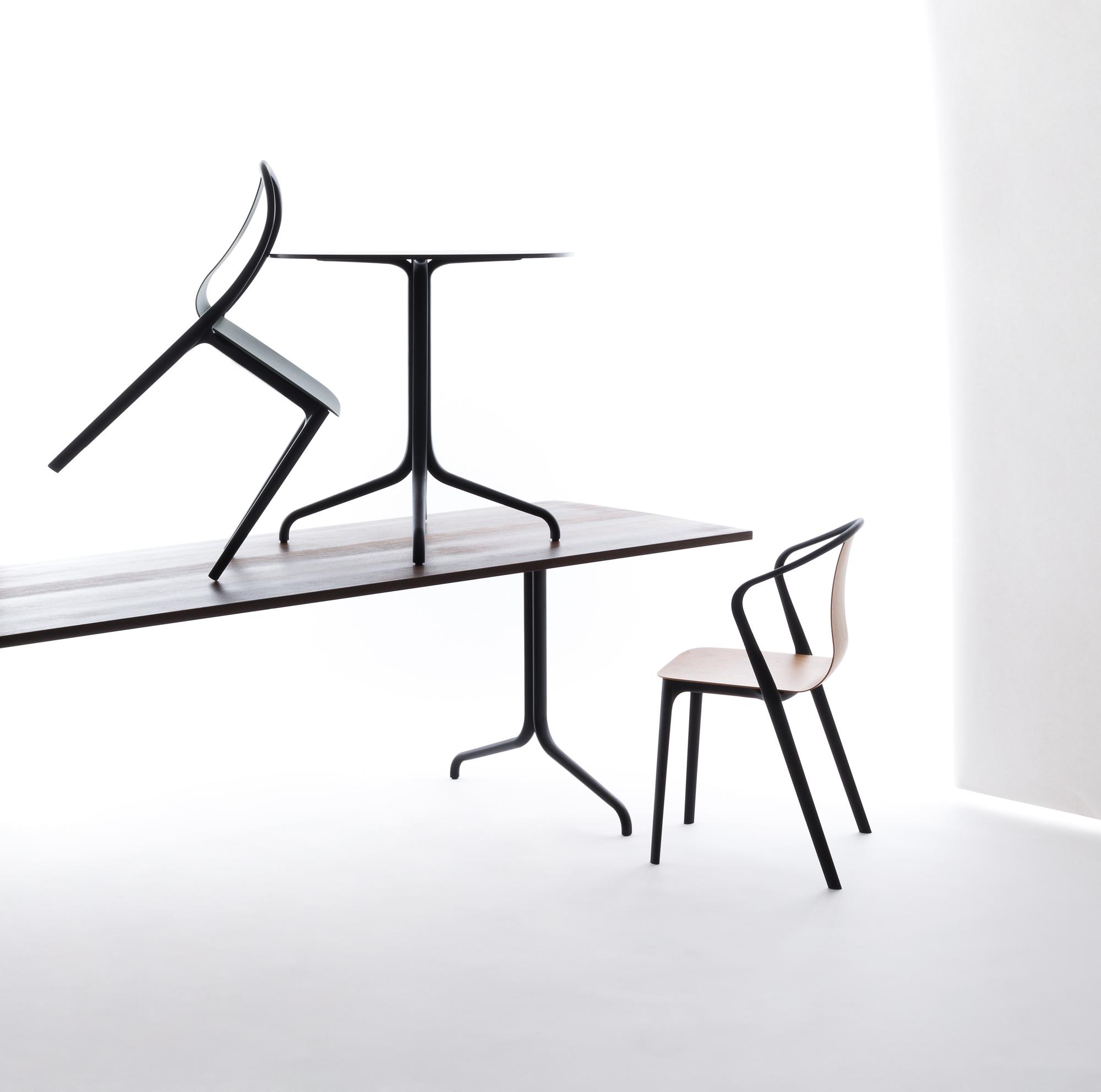 Belleville Chair Plastic Stuhl Vitra