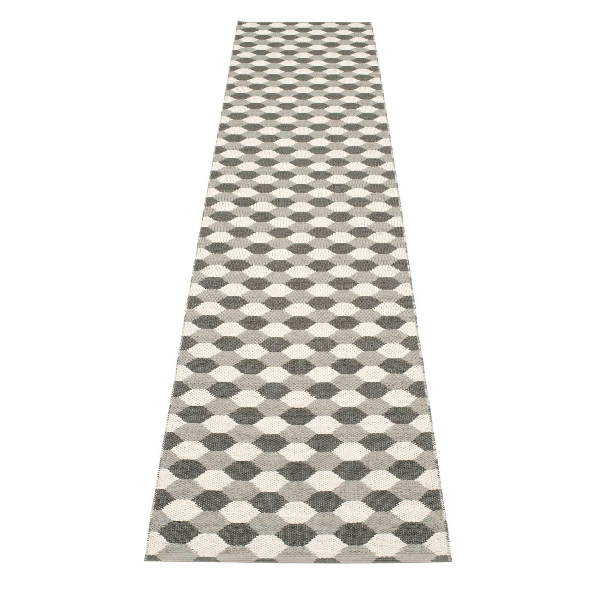 Dana Kunststoffteppich 70x400 warm grau Pappelina