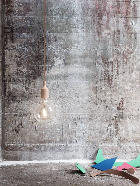 E27 Socket lamp Pendelleuchte Muuto