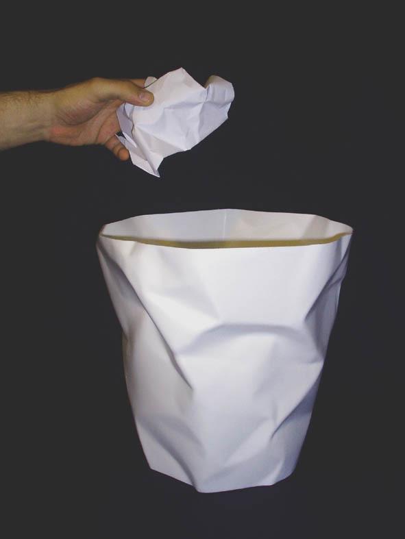 Bin Bin Papierkorb rot Klein & More
