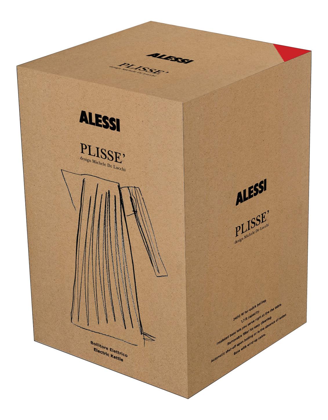 Plissé Wasserkocher Alessi