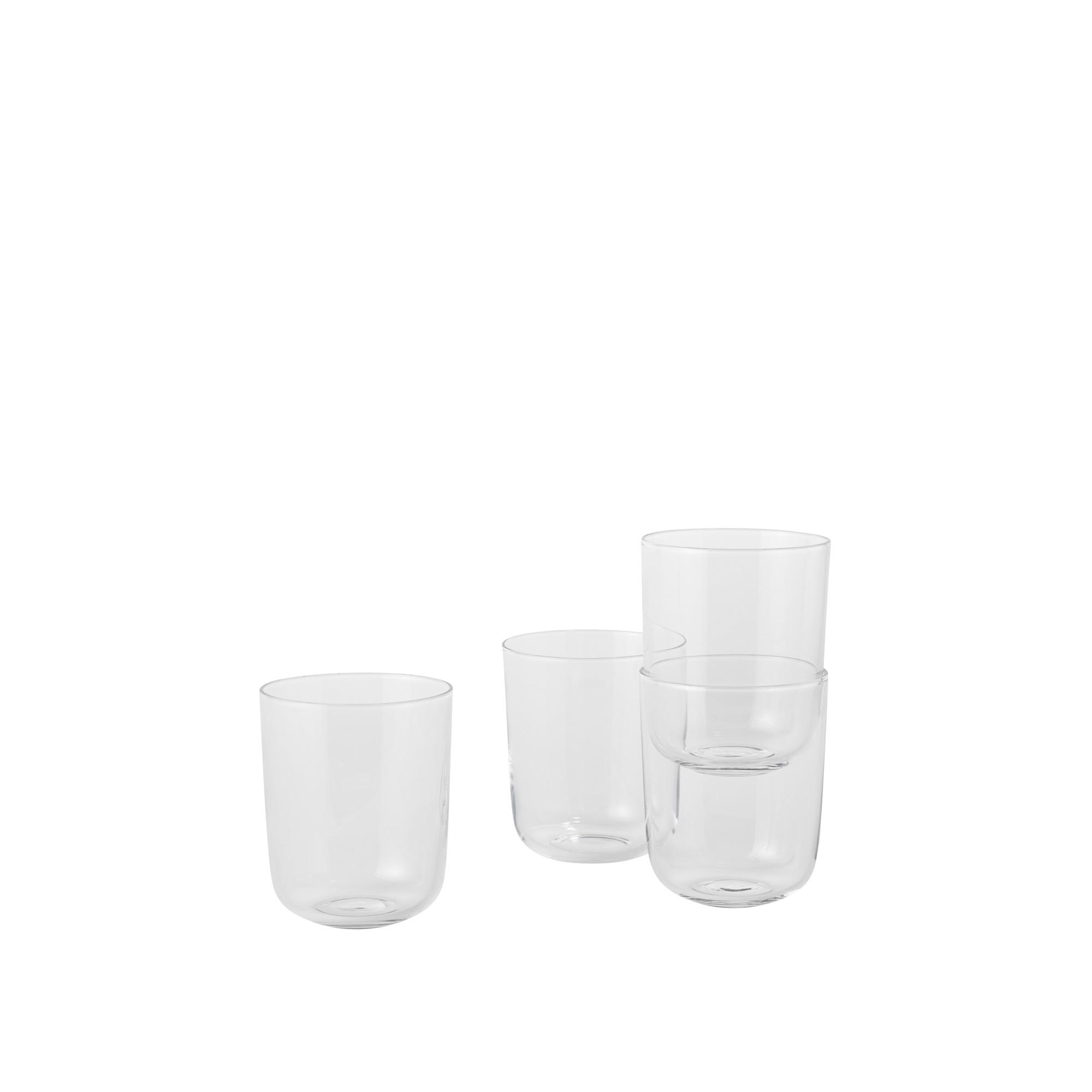 Corky Glasses Glas Tall Klar Muuto