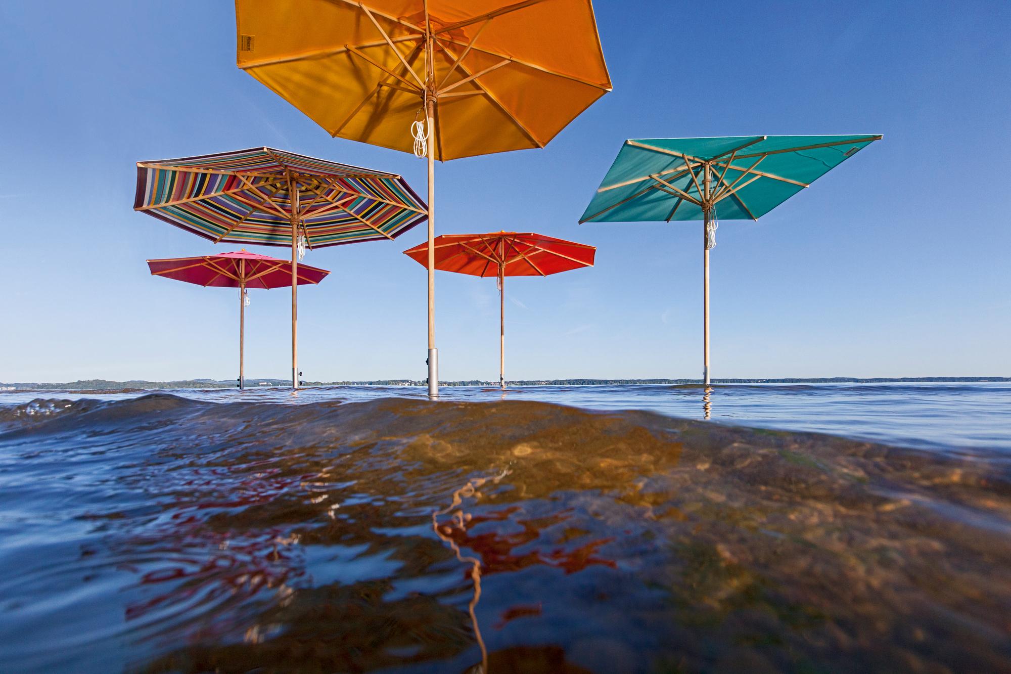 Bodenhülse für Sonnenschirm Weishäupl 5,4 cm
