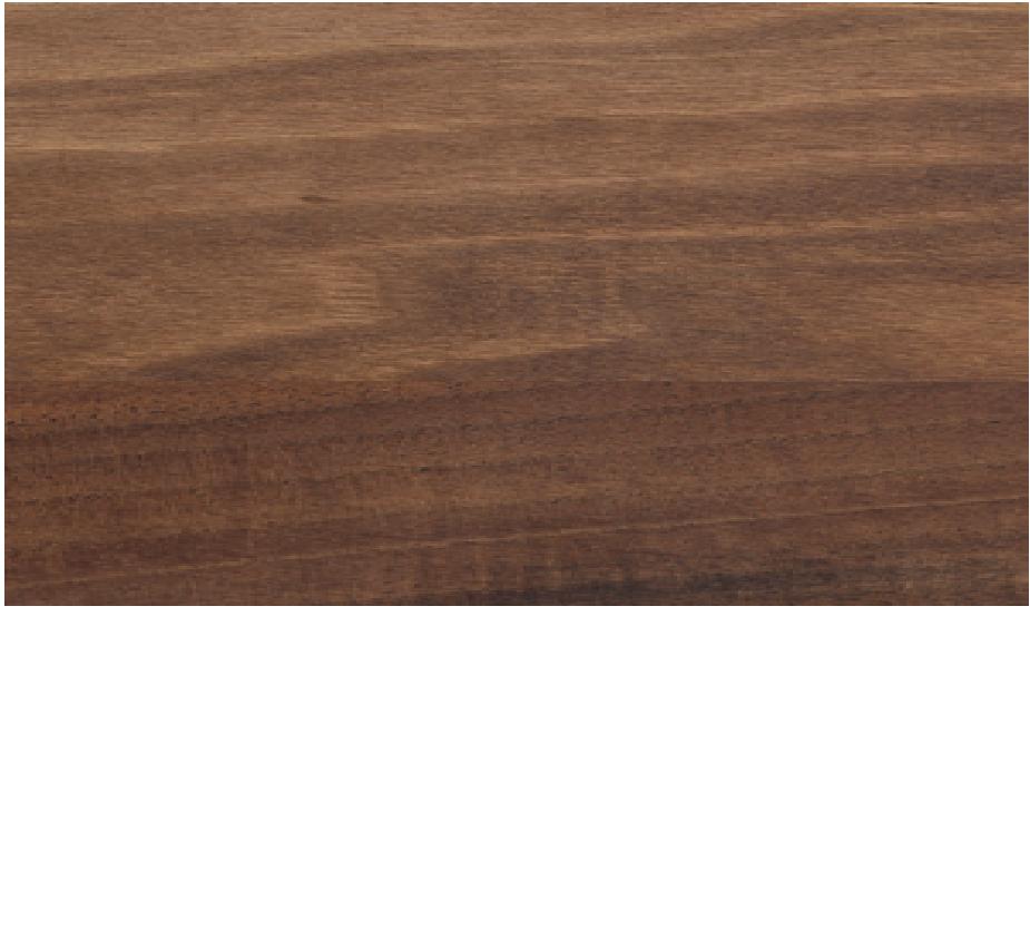 Nussbaum geölt: L 300 x B 79 x H 75 cm