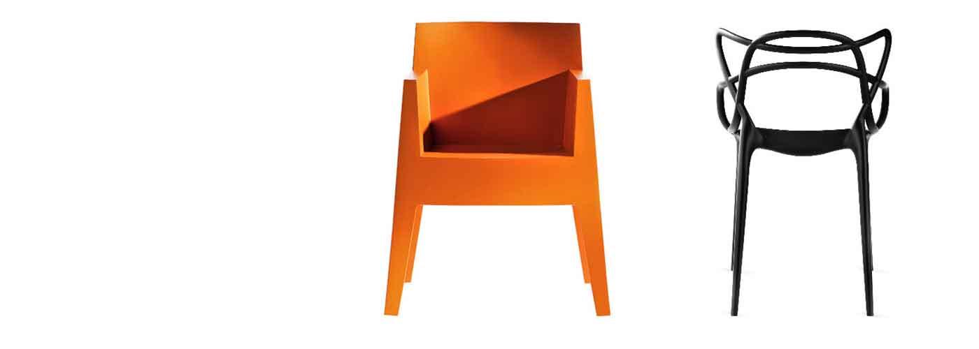 Kunststoff-Stühle