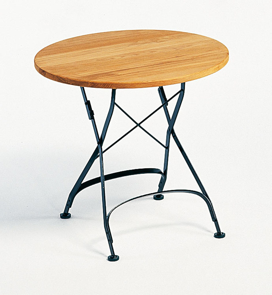 Classic Table Tisch klappbar Weishäupl Ø75 cm graphitgrau
