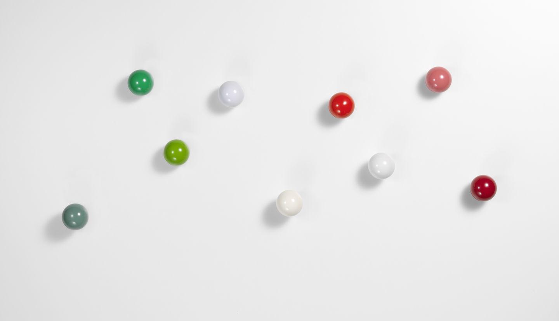 Coat Dots Garderobenhaken 3er-Set Vitra Grün