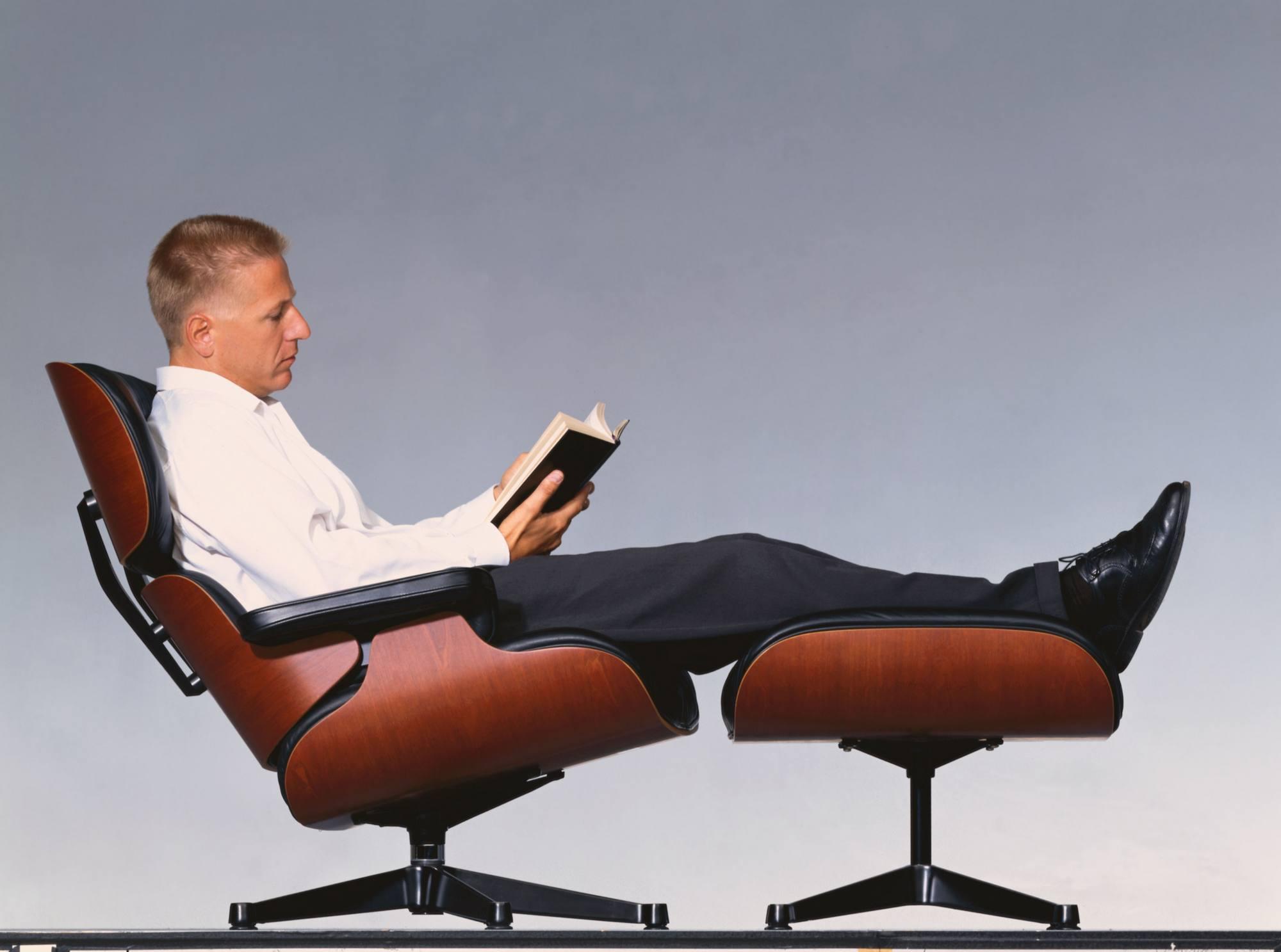 Eames Lounge Chair & Ottoman Sessel Vitra