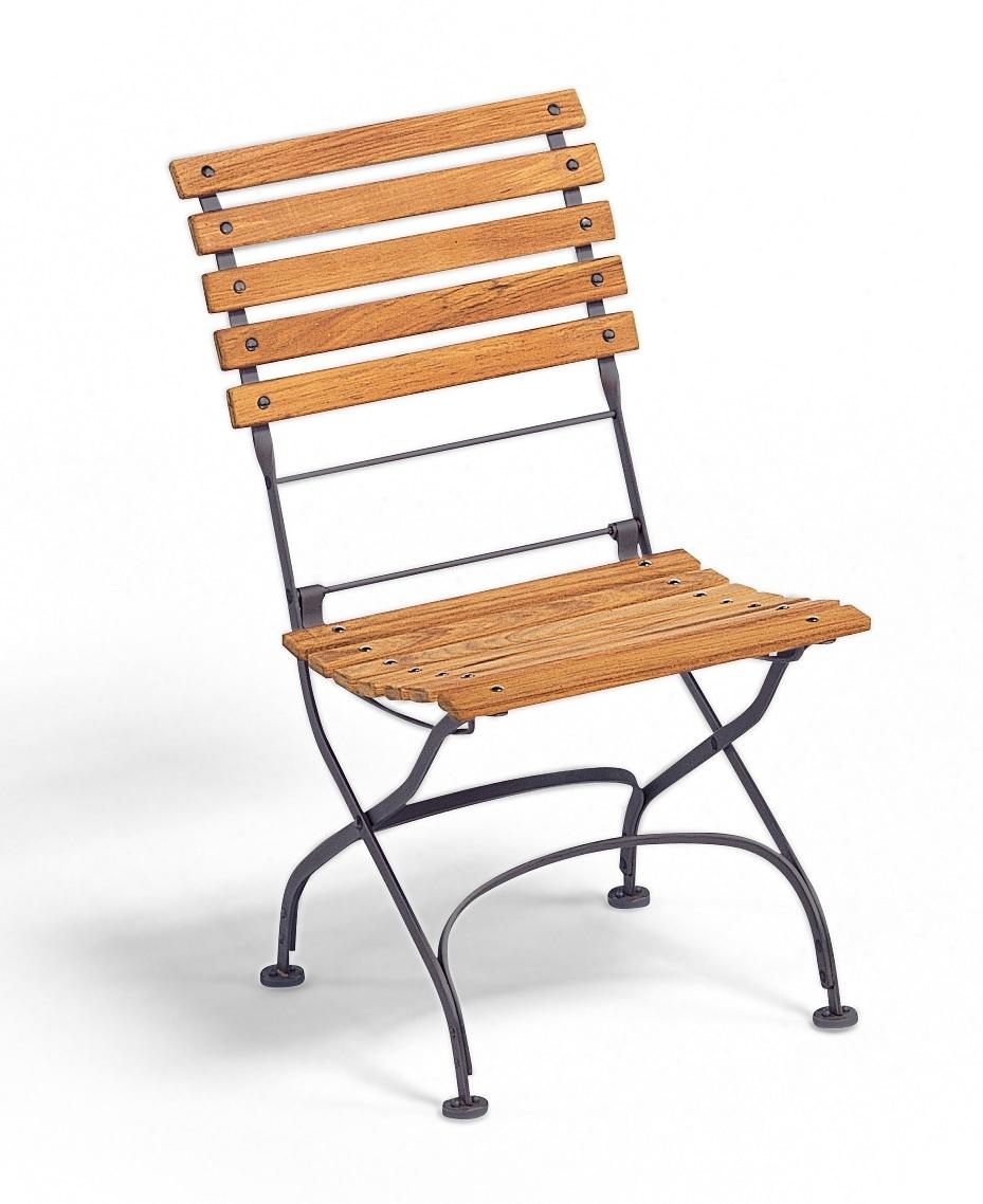 Classic Chair Stuhl klappbar ohne Armlehnen Weishäupl weiß