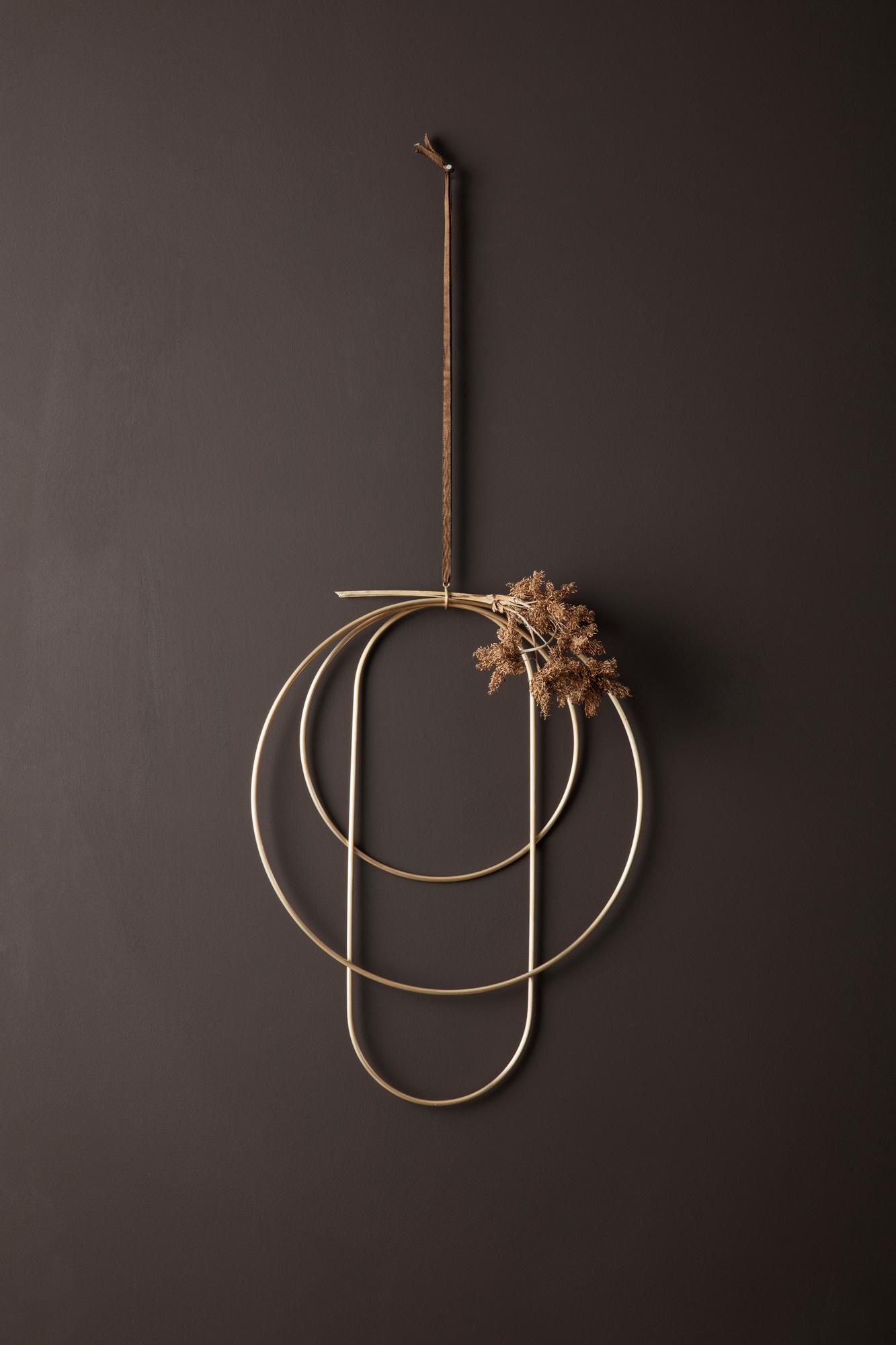 Deco Frames dekorative Messingringe Ferm Living