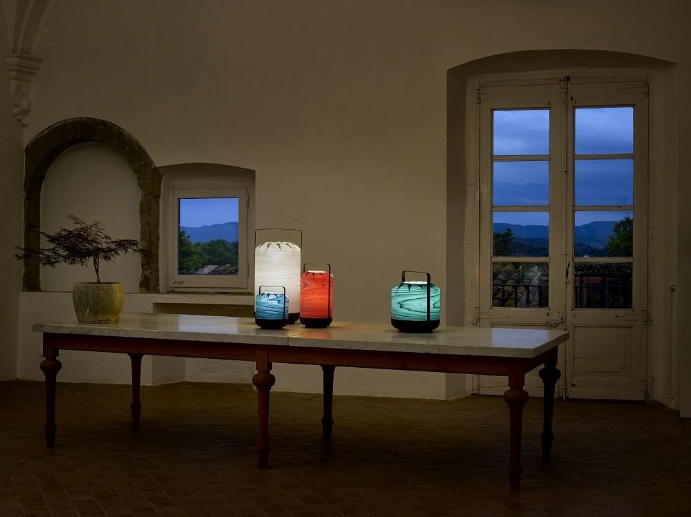 Chou Tall Schmale Tischleuchte LZF Lamps