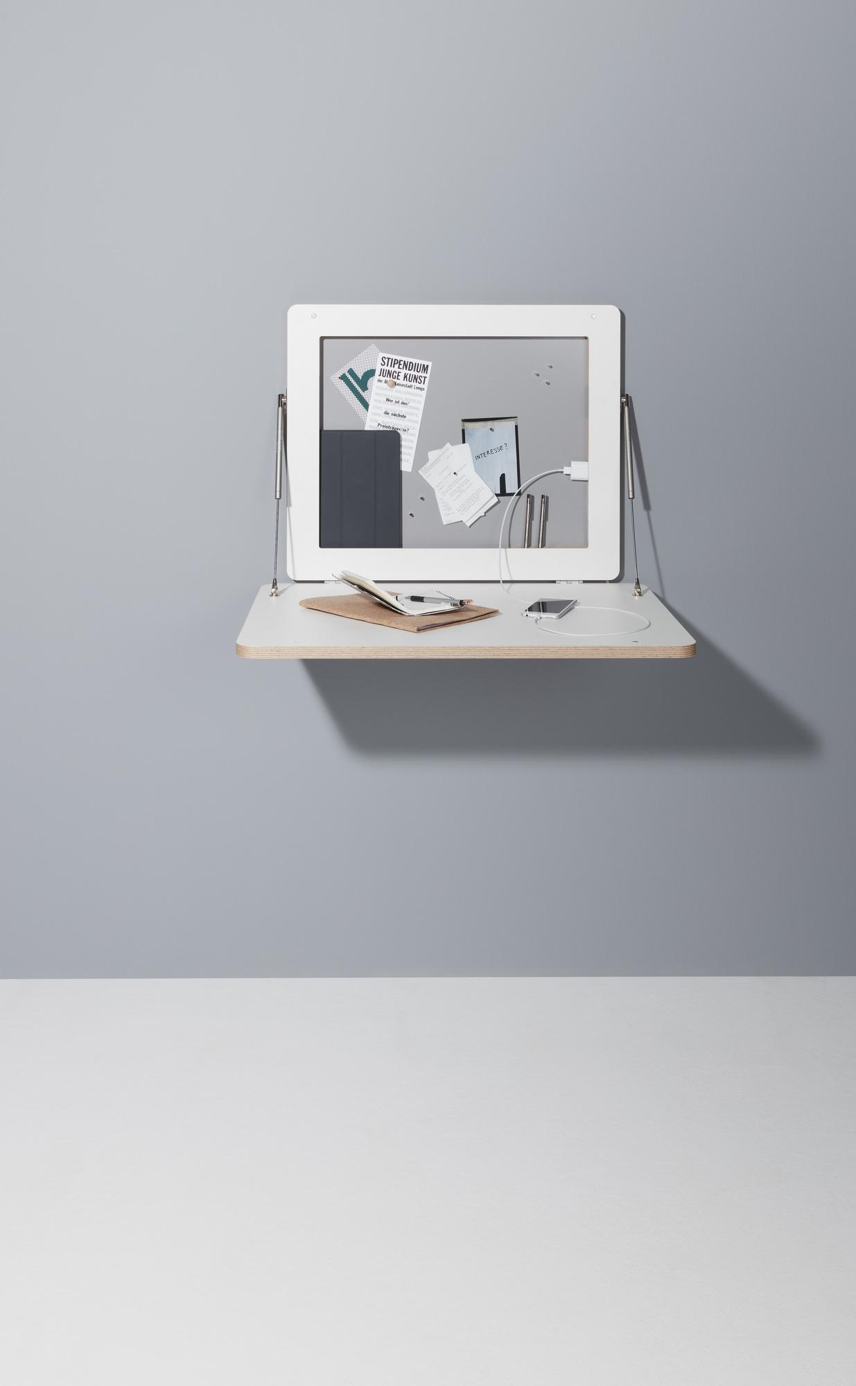 Flatframe Wandsekretär Müller Möbelwerkstätten
