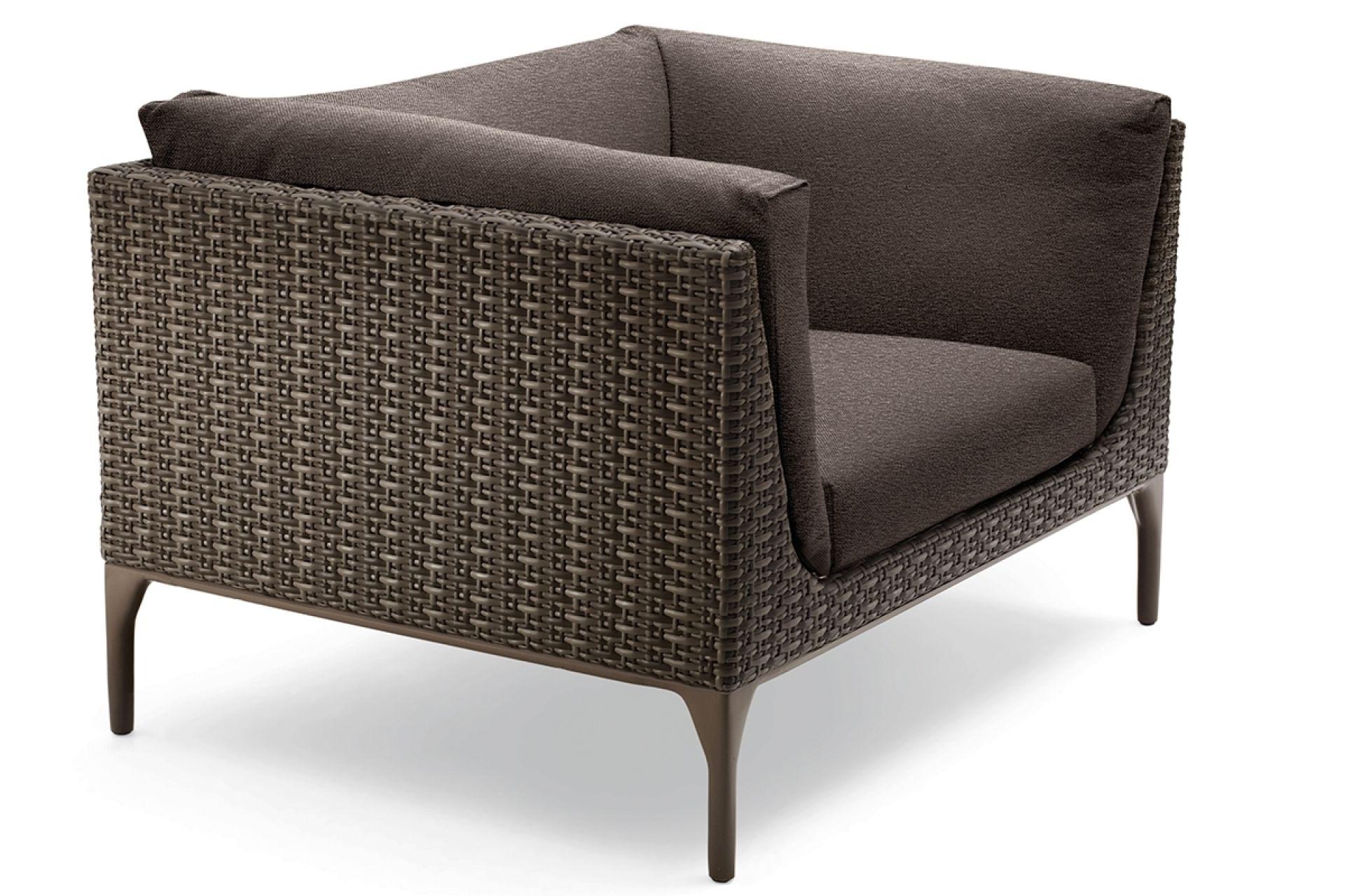 Mu Lounge Chair Sessel vulcano Dedon