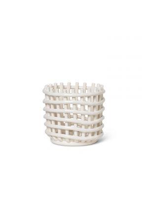 Ceramic Basket Keramik Korb Ferm Living