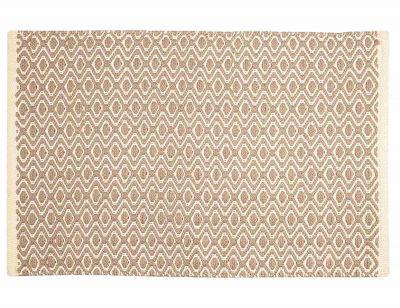 Akzent in/outdoor mat Matte Pad-Sand-Elfenbein