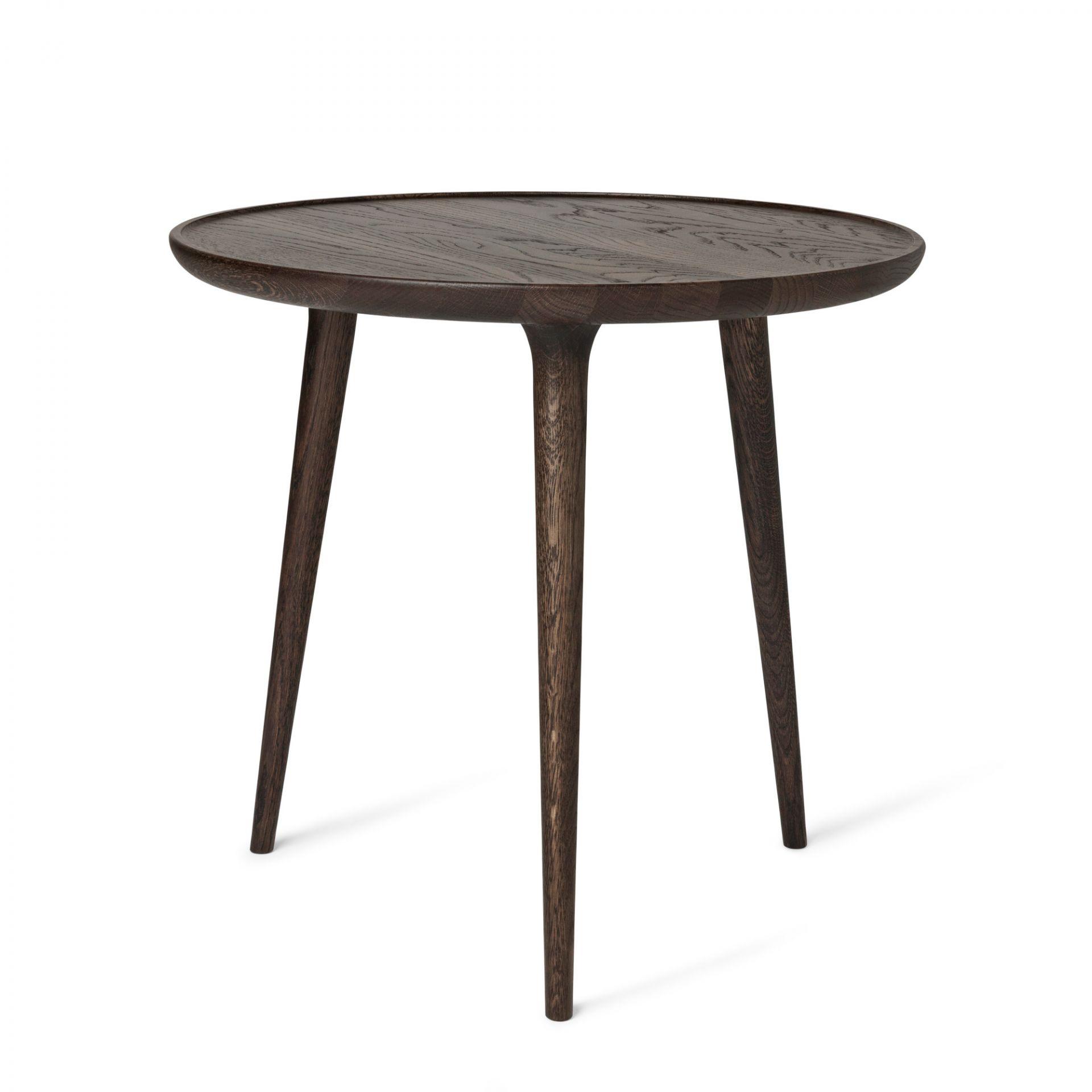 Accent Side Table Eiche Sirka grau groß Mater