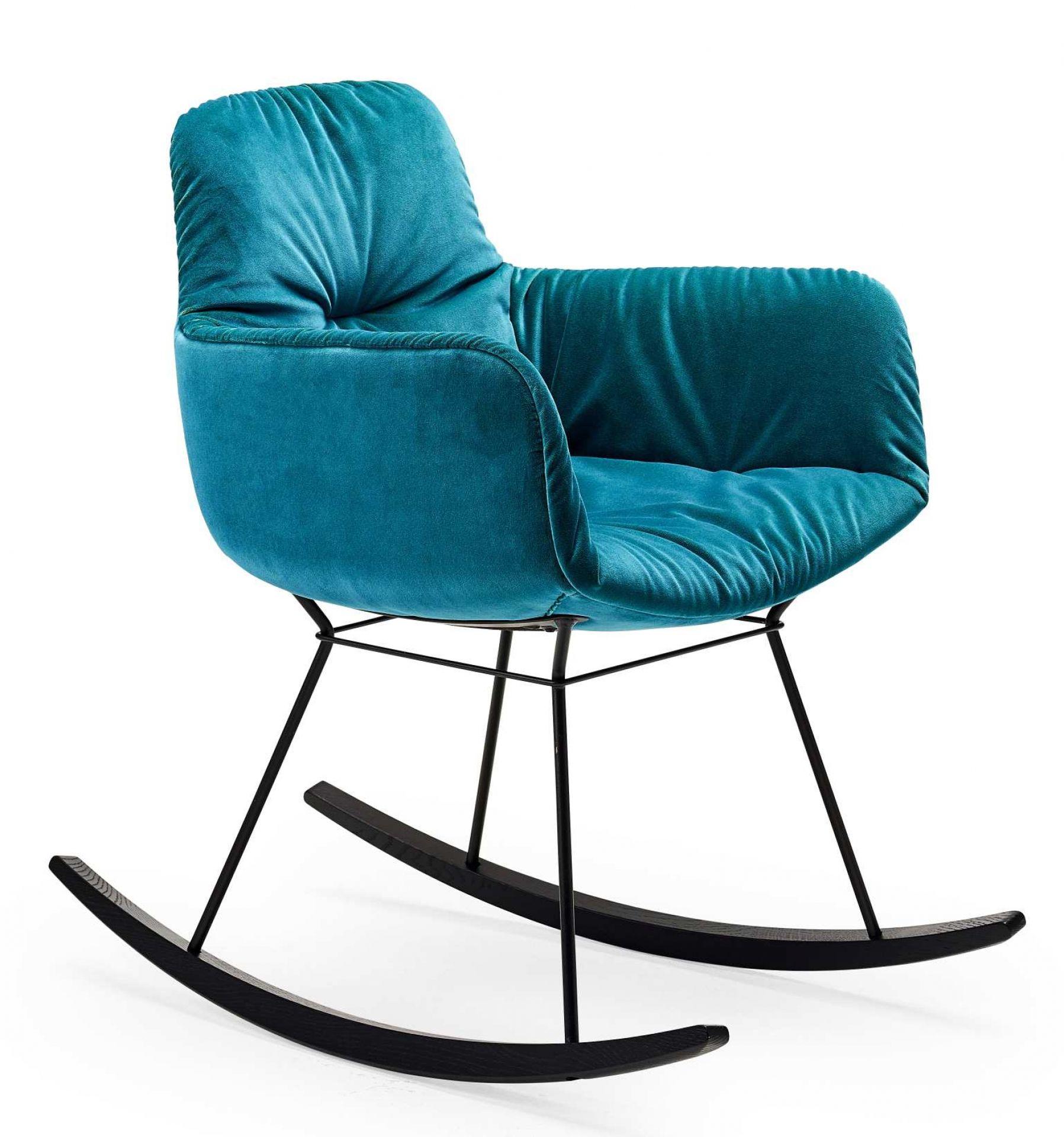 Leya Rocking Lounge Chair Small Schaukelstuhl Freifrau Sitzmöbelmanufaktur