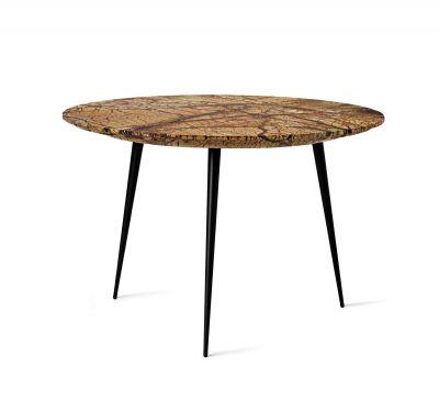 Disc Side Table Couchtisch klein Jungle braun Mater