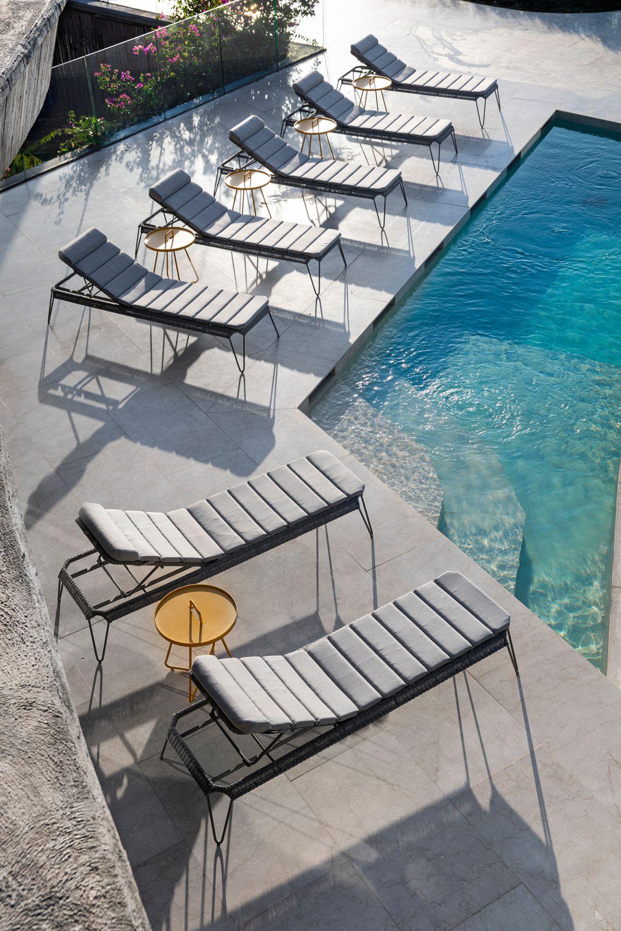 Breeze Kissen für Outdoor Sonnenliege Cane-Line weiß