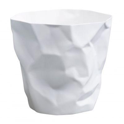 Bin Bin Papierkorb weiß Klein & More