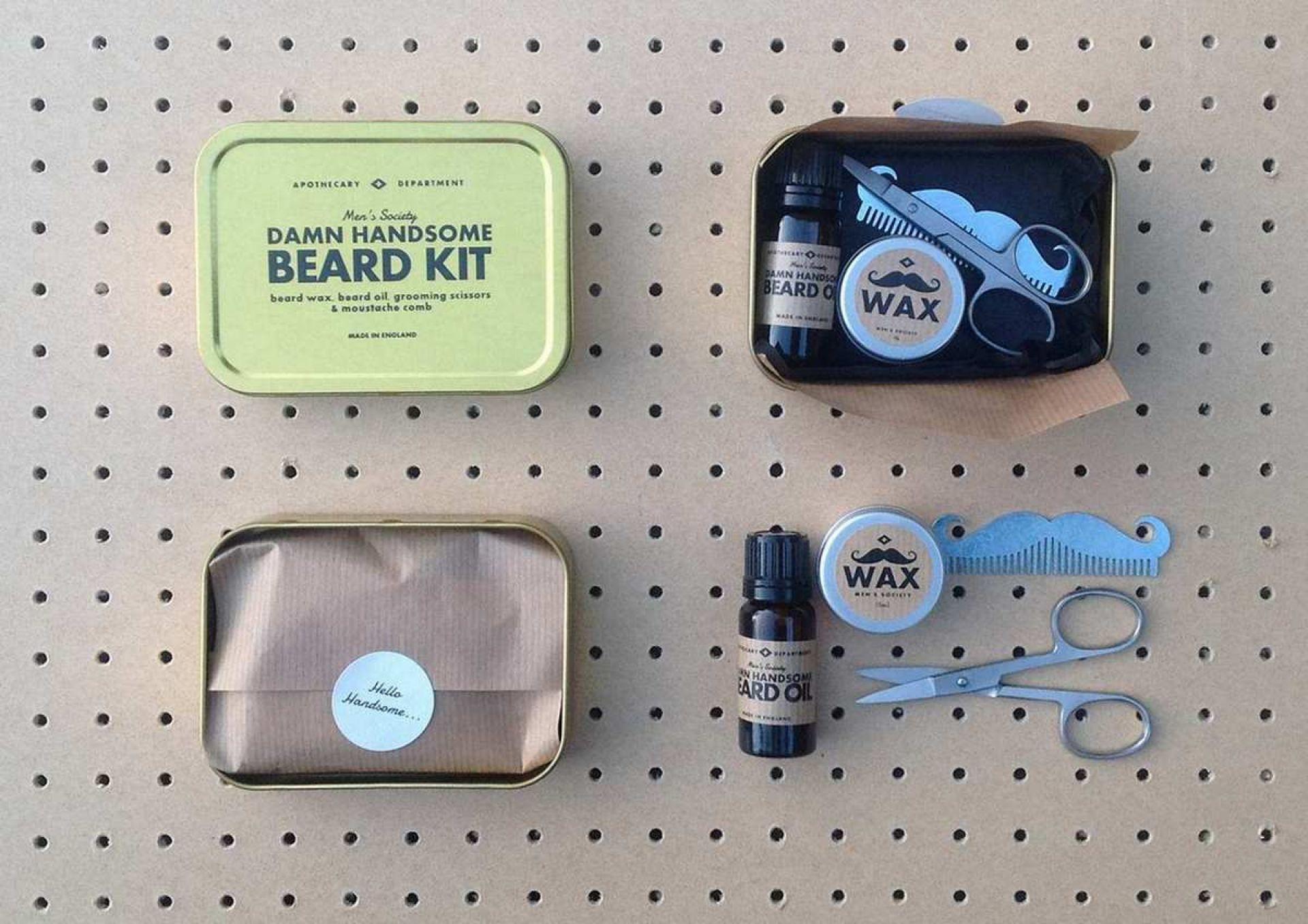 Beard Grooming Kit Bartpflege-Set Men's Society