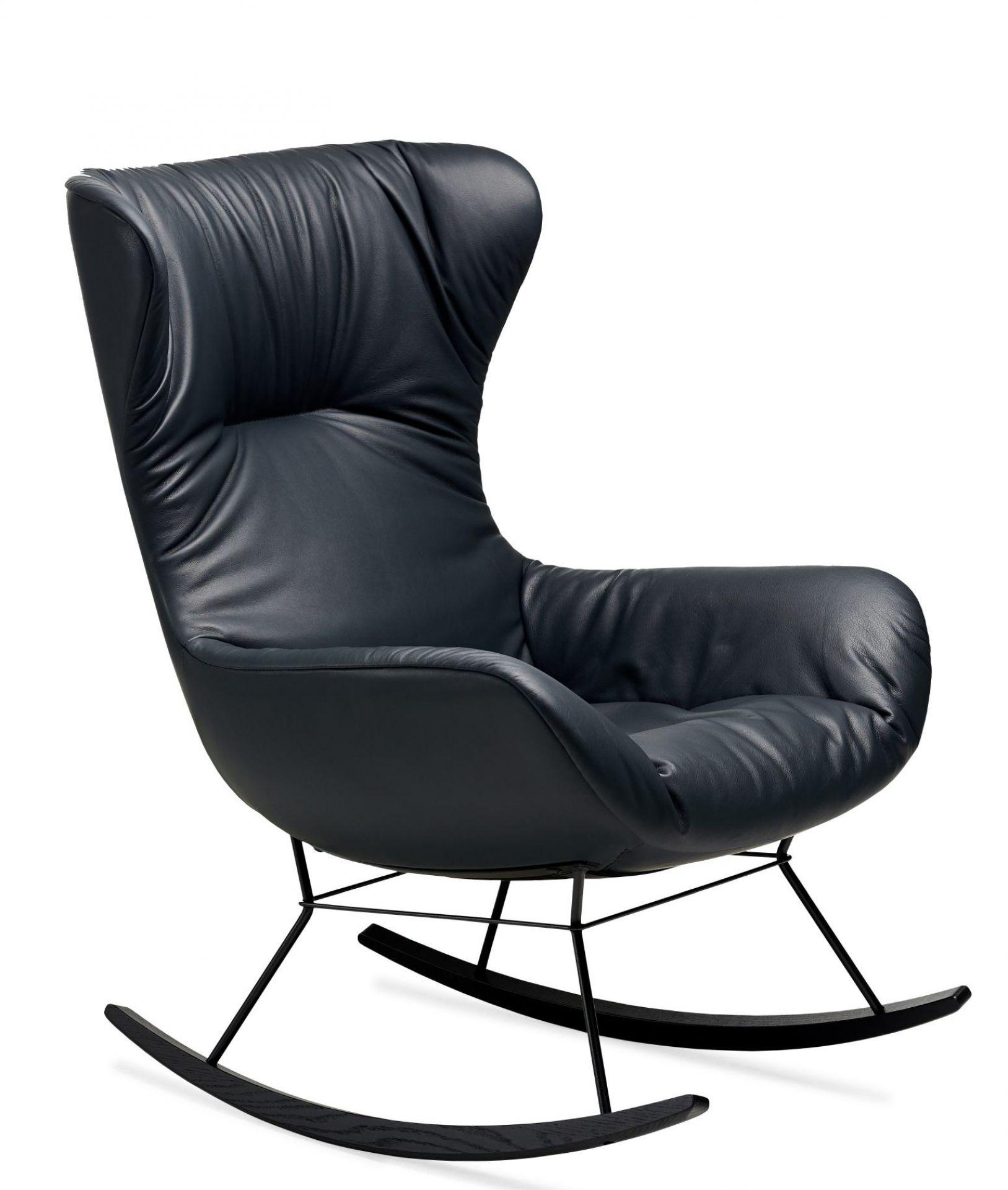Leya Rocking Wingback Chair Schaukelstuhl Freifrau Sitzmöbelmanufaktur