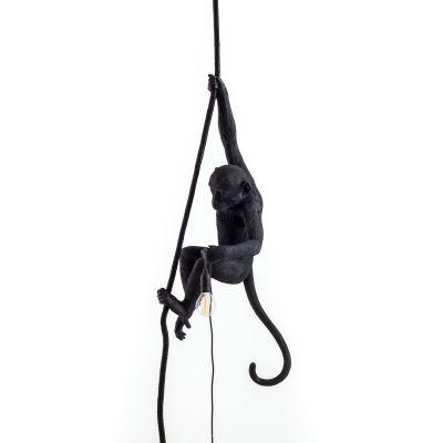 Monkey Lamp Black Pendelleuchte Seletti