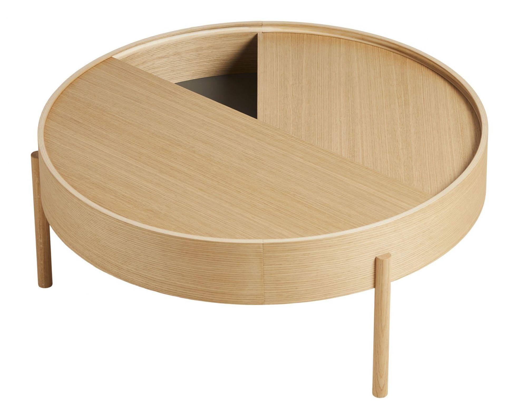 Arc Coffee Table ⌀ 89 cm Woud