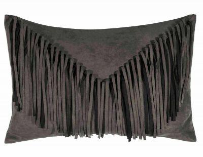 Bonanza Cushion Cover Kissenbezug Pad-Dunkelgrau