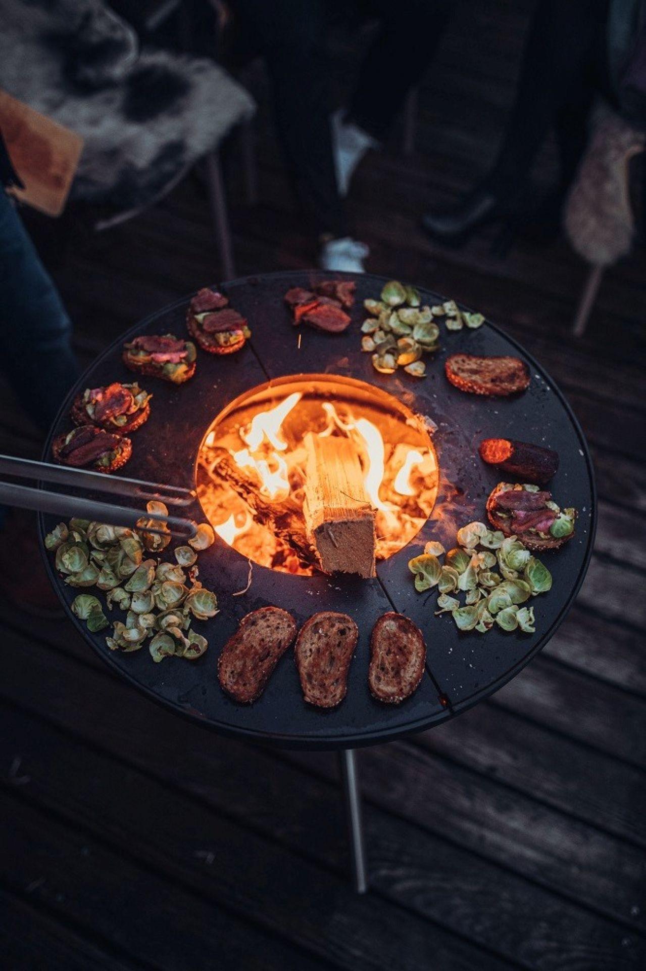 Bowl Feuerschale mit Dreibein höfats