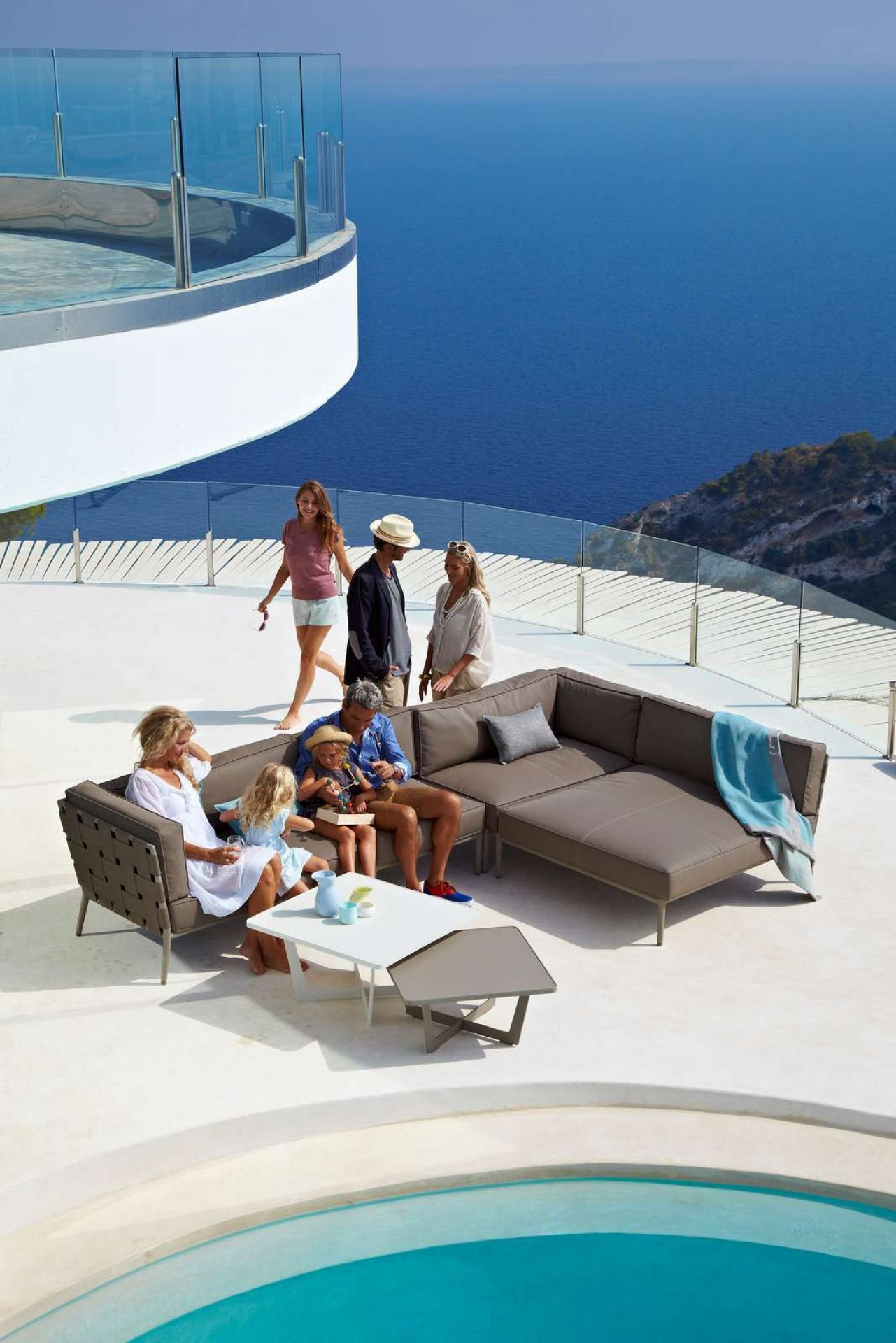 Conic Outdoor Daybed Schlafsofa Modul Cane-Line
