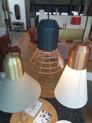 3er Set Bell Light Hängeleuchte ClassiCon AUSSTELLUNGSSTÜCK design Sebastian Herkner