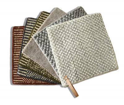 Teppich Mustersatz Rombo, Kyoto, Tint und Tact Woud