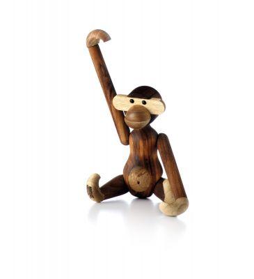 Affe Holzfigur Teak Kay Bojesen