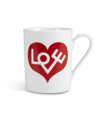 Coffee Mugs Love Heart Tasse Vitra Rot