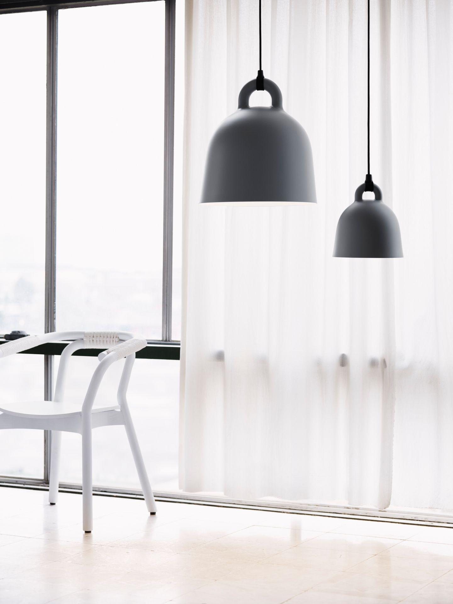 Bell Lamp Hängeleuchte Normann Copenhagen Sand Ø 35 cm