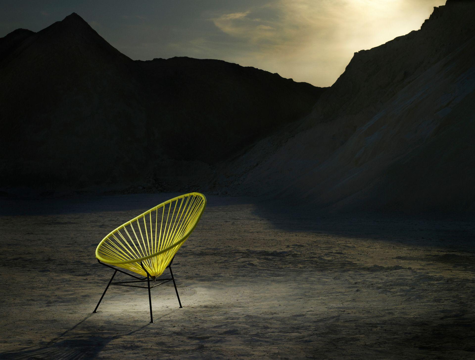 Acapulco Chair Stuhl OK Design schwarz