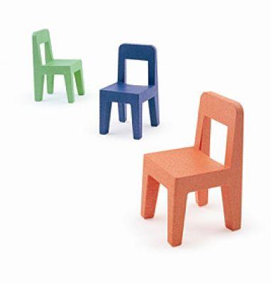 4-er Set Seggiolina Pop Kinderstühle