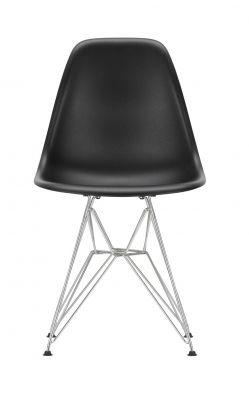Eames Plastic Side Chair DSR Stuhl Vitra Chrom-tiefschwarz