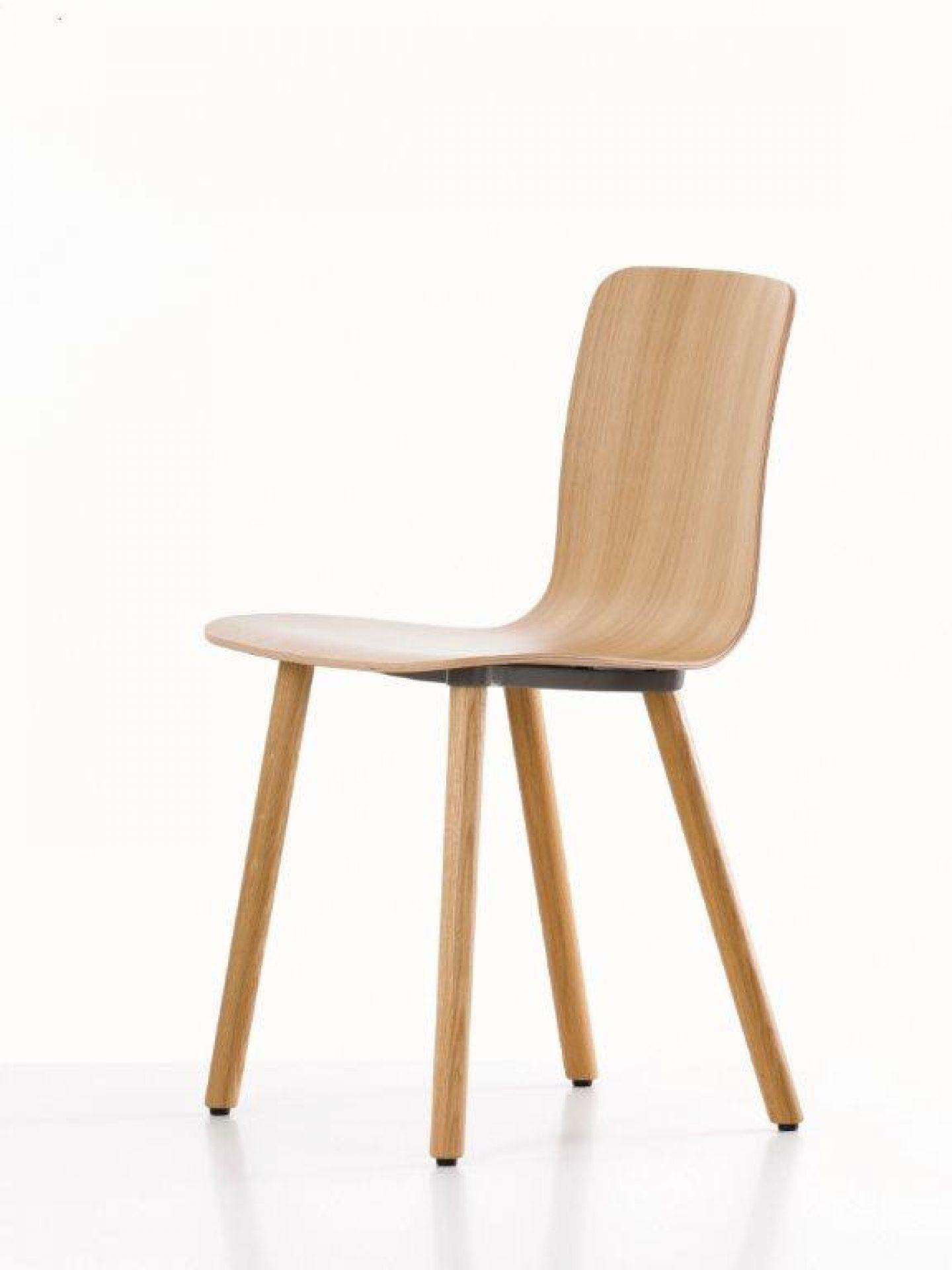 Hal Ply Wood Stuhl Vitra