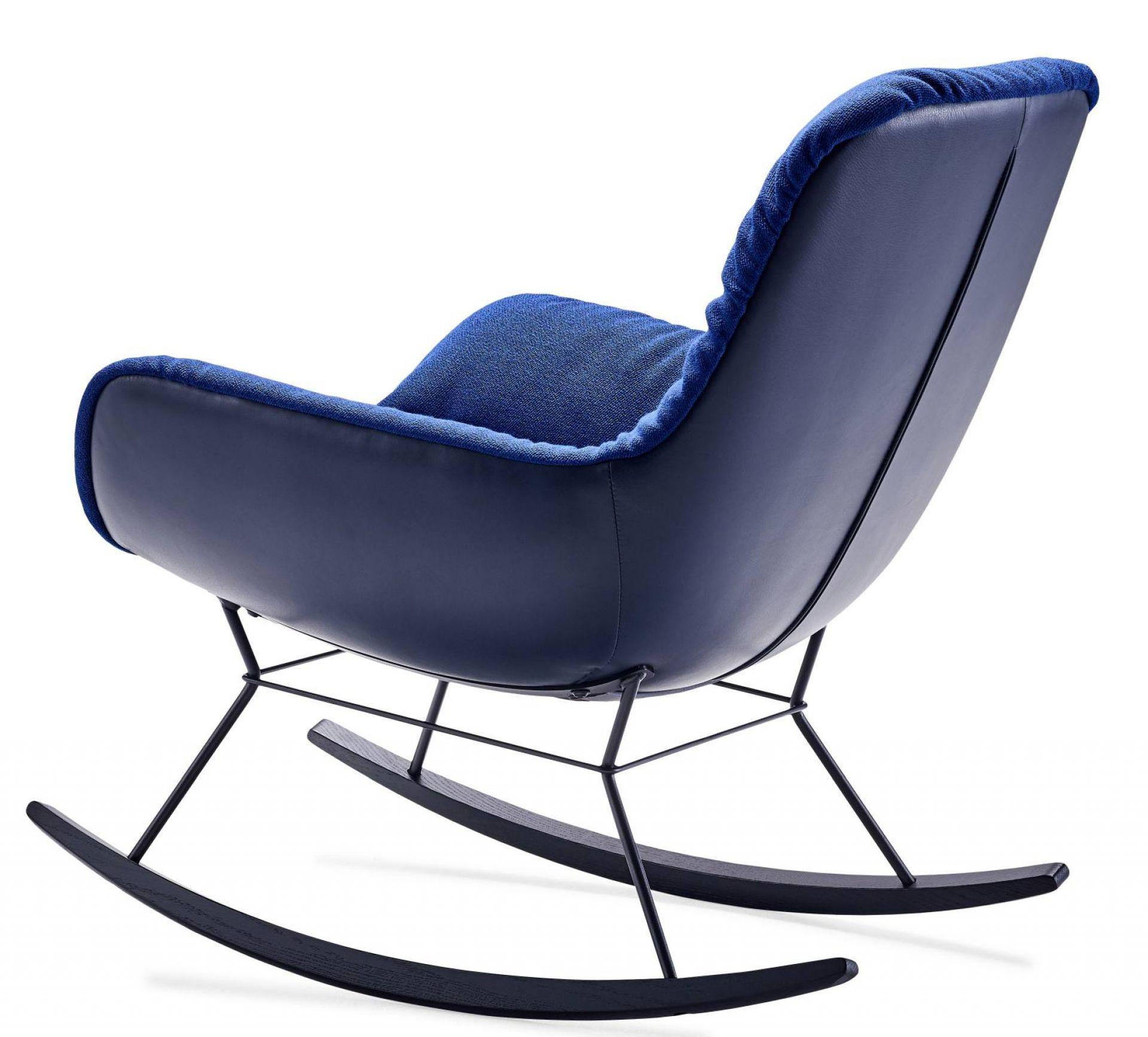 Leya Rocking Lounge Chair Schaukelsessel Freifrau Sitzmöbelmanufaktur
