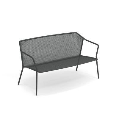 Darwin 2-Sitzer Sofa Bank Emu antikes Eisen